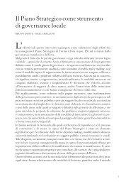 Il Piano Strategico come strumento di ... - Torino Strategica