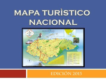 Presentación Mapa Turistico 2013 - Cámara Nacional de Turismo ...