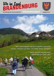 Infoblatt 2/2013 - Brandenburgischer Seniorenverband eV