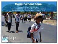 Model School Zone - Safe Kids Worldwide