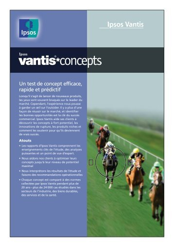 Ipsos Vantis Concepts