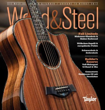 Fall Limiteds Builder's Reserve - Taylor Guitars