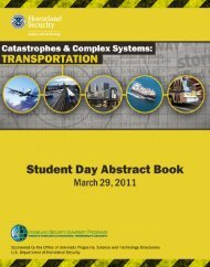 Student Day Abstract Book - Oak Ridge Institute for Science and ...