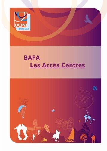 BAFA Les Accès Centres - Ucpa
