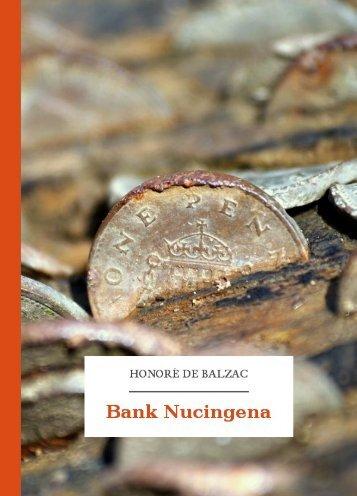 Bank Nucingena - Wolne Lektury