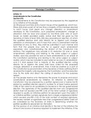 Mississippi Constitution - Initiative and Referendum Institute