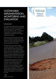 sustainable implementation, monitoring and evaluation - CSIR