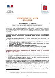 COMMUNIQUÉ DE PRESSE - Les services de l'État dans le Val-d'Oise