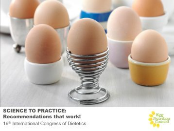 Presentation title goes here - Egg Nutrition Council