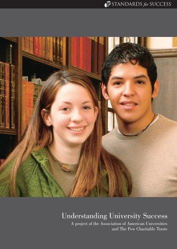 Understanding University Success - Educational Policy ...