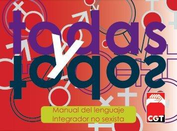 Manual del lenguaje Integrador no sexista - Educarueca