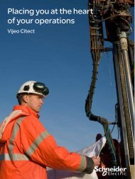 Placing you at the heart of your operations (pdf ... - Schneider Electric