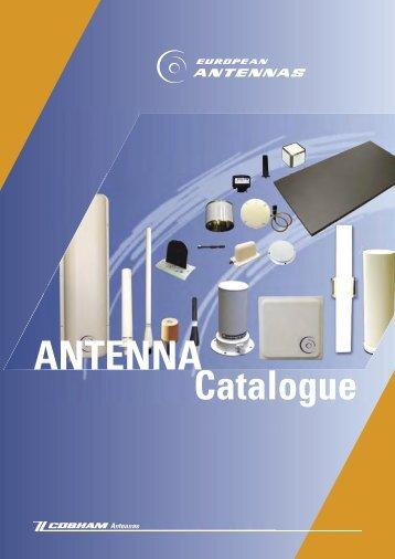 Catalogue ANTENNA - European Antennas