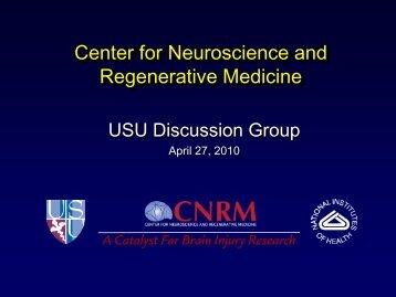Center for Neuroscience and Regenerative Medicine - Uniformed ...