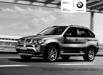 Ausgestattet mit den besten Ideen. - BMW Military Sales