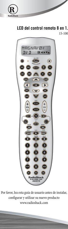 shaw pvr remote control manual