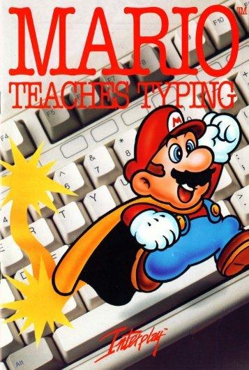 Mario Teaches Typing Instruction Manual (1992).pdf