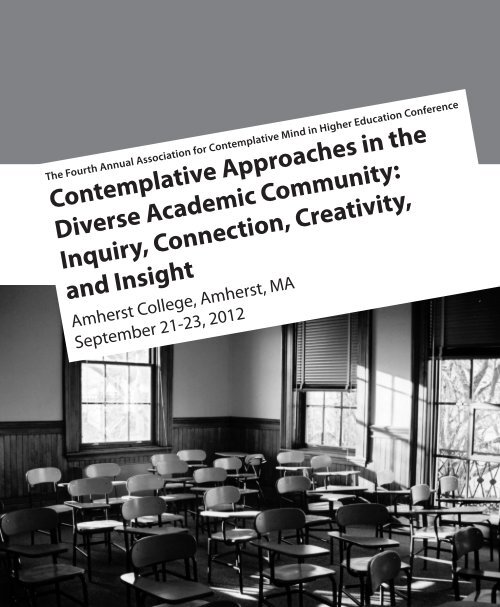 Contemplative Approaches in the Diverse Academic Community ...