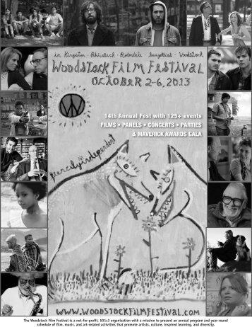 pre-fest PDF - Woodstock Film Festival