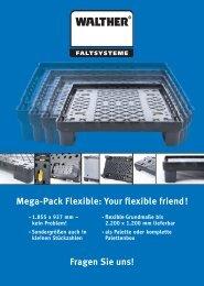 Mega-Pack Flexible - Walther Faltsysteme GmbH