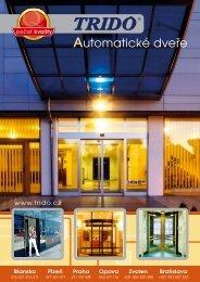 Prospekt - automatické dveře (formát .pdf) - Trido