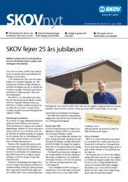 SKOVnyt juni 2004 (PDF version) - Skov A/S