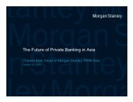The Future of Private Banking in Asia