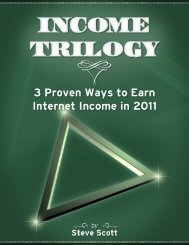 1 Income Trilogy Report - Steve Scott