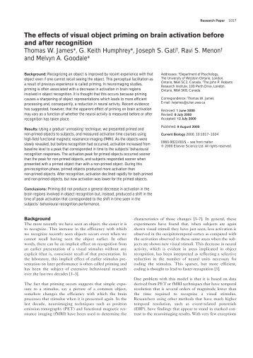 Uwo psychology thesis