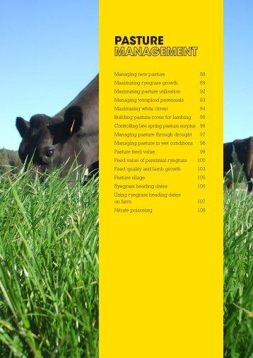 Pasture Management - Agriseeds Pasture Site