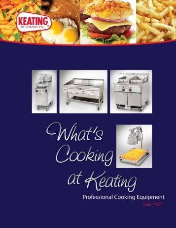 Equipment Catalog - Keating of Chicago