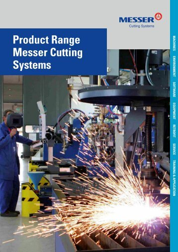 product range Messer cutting systems