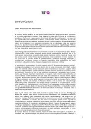 Lorenzo Canova - Artelab
