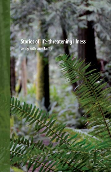 Booklet - Stories of life-threatening illness: Living with uncertainty