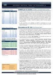 10/09/2012 Informe diario de mercados de Saxo Bank Los futuros ...