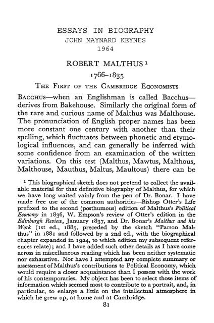An Analytical Essay Should Be  Ways To Start A Compare And Contrast Essay also The Interlopers Essay Robert Malthus   Free Essay On Education System