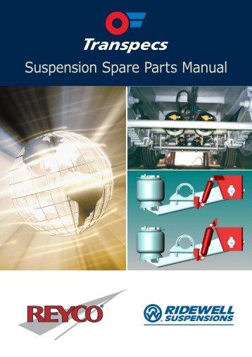 Suspension Spare Parts Manual - Transpecs - TSL