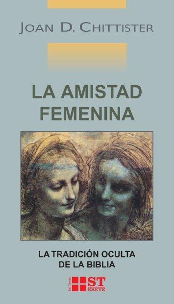 la amistad femenina - Editorial Sal Terrae