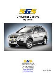 Chevrolet Captiva Bj. 2006 - SGS
