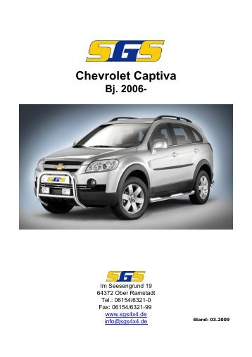 Chevrolet Captiva Bj. 2006 - SGS