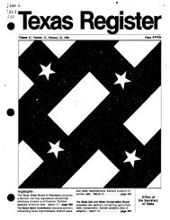 Texas Register V.9 No. 13 - The Portal to Texas History