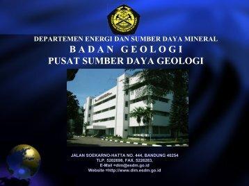 sistem informasi mineral - Pusat Sumber Daya Geologi ...