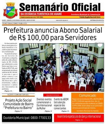 Prefeitura anuncia Abono Salarial de R$ 100,00 para Servidores