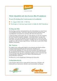 Qualität mit den besten Bio-Produkten - Demeter-Felderzeugnisse ...