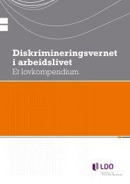 Diskrimineringsvernet i arbeidslivet - LDO.no