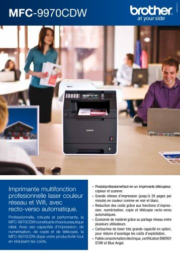 MFC-9970CDW - Toner laser et cartouche d'encre pour imprimante