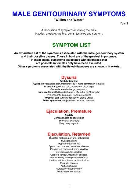 lesión cerebral traumática prostatitis