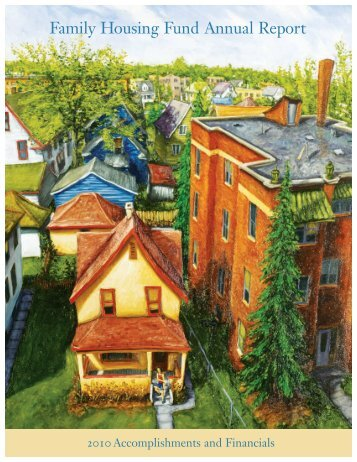 2010 Annual Report - Family Housing Fund
