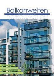 Balkonwelten - Kundenzeitschrift von Lumon - Wernig Stefan GmbH