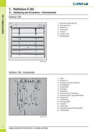 1. Raffstore C-80 - JalouCity